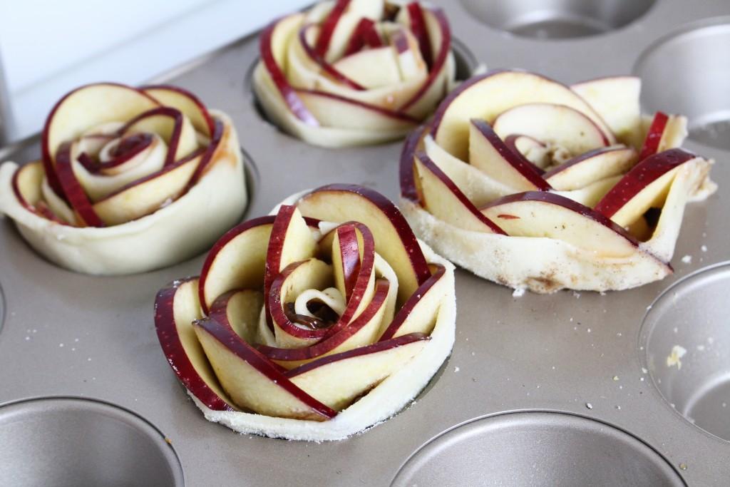apple roses pomme roses recette