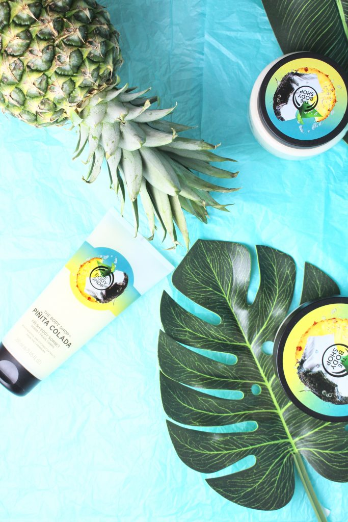 piña colada the body shop