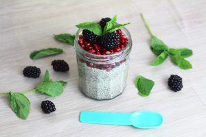 chia pudding noisette