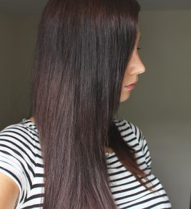 carré long ombré hair