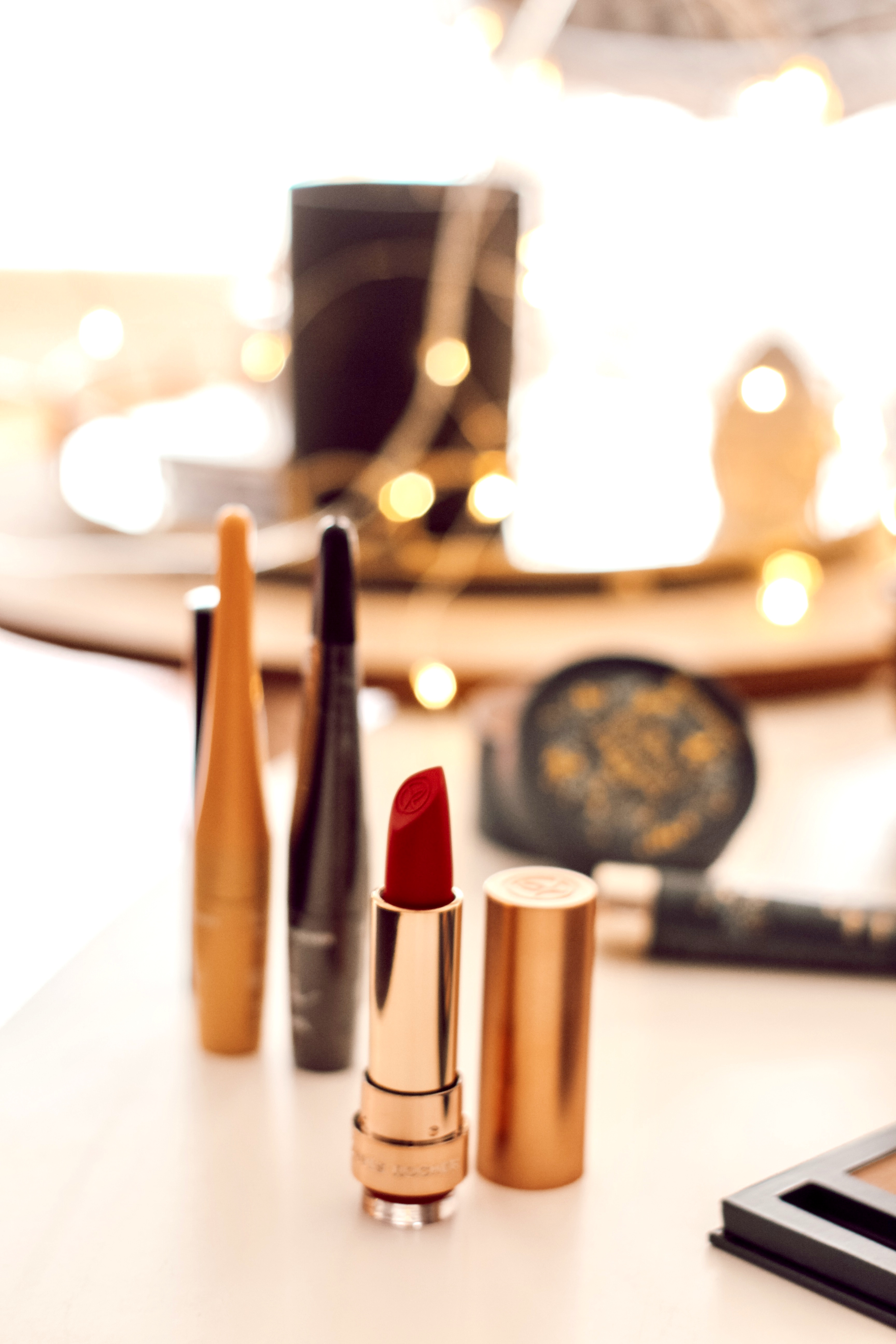 Maquillage des fêtes Yves Rocher rouge à lèvres